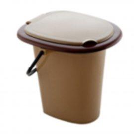Ведро 16л туалетное с крышкой