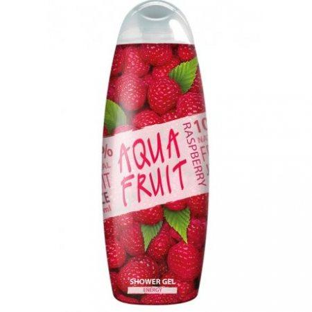 Гель для душа AQUAFRUIT Energy сок малины 420мл