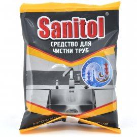 Средство для удаления засоров в трубах SANITOL Антизасор 90г