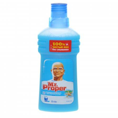Средство для уборки Mr.PROPER Моющее Океанская свежесть 500мл