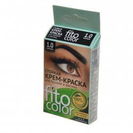 Крем-краска для бровей и ресниц FITOCOLOR Стойкая 1.0 Черный