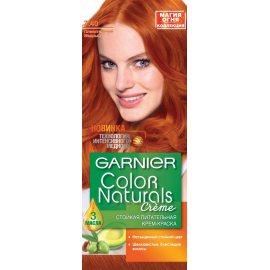 Крем-краска для волос GARNIER COLOR NATURALS стойкая 7.40 Пленит.медный