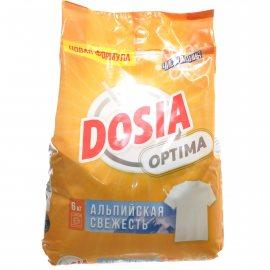 Стиральный порошок DOSIA Optima Автомат Альпийская свежесть 6кг