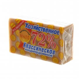 Мыло хозяйственное 72% Натуральное упак 150г