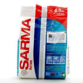 Стиральный порошок SARMA-Active для всех типов стирки для белых и цветных вещей Ландыш 4.50кг
