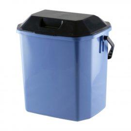 Ведро 10л с крышкой д/мусора