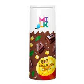 Гель для душа MILK Увлажняющий Шоколадный 400мл