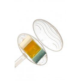 Блок гигиенический для унитаза DOMESTOS Подвеска Citrus Fresh/Лимонная свежесть сила 3в1 40г