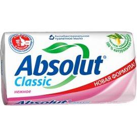 Мыло туалетное ABSOLUT Classic Антибактериальное Нежное 90г
