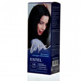 Крем-краска для волос ESTEL LOVE 1/0 Черный
