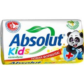 Мыло туалетное ABSOLUT Kids Антибактериальное Календула 90г