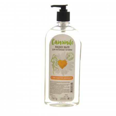 Мыло жидкое для интимной гигиены CAMOMILE с экстр.Ромашки /Баб.Апт 730г