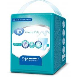 Трусы для взрослых iD Medium 10шт Pants 80-110см