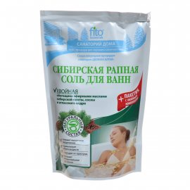 Соль для ванн САНАТОРИЙ ДОМА Хвойная Сибирская рапная 530г