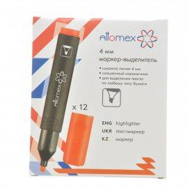 Маркер ATTOMEX Текстовыделитель 4мм Оранжевый