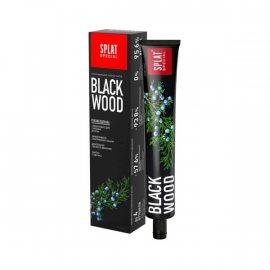 Зубная паста SPLAT Special Отбеливающая BLACKWOOD 75мл