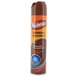 Полироль MEBELUX для мебели антистатик 300мл