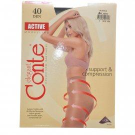 Колготки CONTE Active 006 40 р.4 Nero/Черный