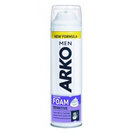 Пена для бритья ARKO для чувствительной кожи Sensitive 200мл