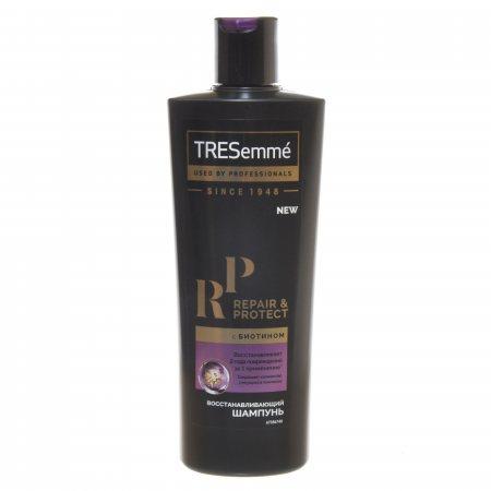 Шампунь для волос TRESEMME Восстанавливающий REPAIR AND PROTECT с биотином 400мл