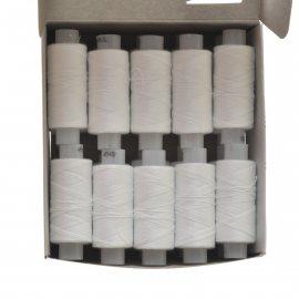 Нитки швейные 40лш 200м 0101 белые