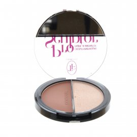 Пудра-хайлайтер TRIUMPF Pro Sculptor Powder №01 Light Medium/Розовый 12г