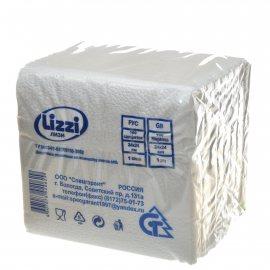 Салфетки бумажные LIZZI 100шт Белые