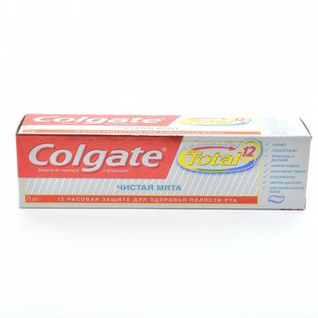 Зубная паста COLGATE Total 12 Чистая мята 75мл