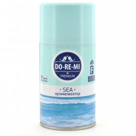 Освежитель воздуха ДО-РЕ-МИ Премиум Автоматический сменный Дыхание моря 250мл