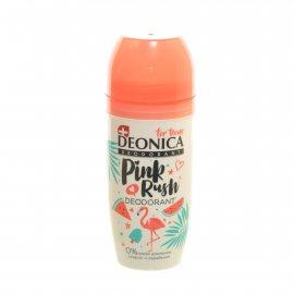 Дезодорант DEONICA For Teens женский Роликовый Pink Rush с 8 лет 50мл