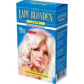 Осветлитель Lady BLONDEN Super с фитопорошком белого льна