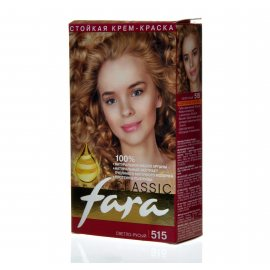 Крем-краска для волос FARA Classic стойкая 515 Светло-русый