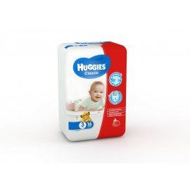 Подгузники HUGGIES Classic 4-9кг 16шт S(3)