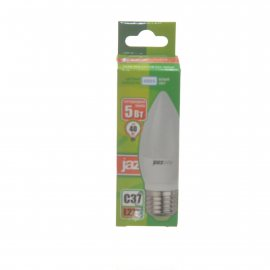 Лампа светодиодная Pled-Eco JAZZWAY Е27 5w С37 4000К белый свет,свеча