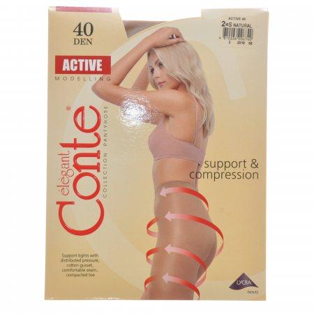 Колготки CONTE Active 006 40 р.2 Natural/Натур.
