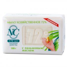 Мыло хозяйственное 72% с пальмовым маслом 180г
