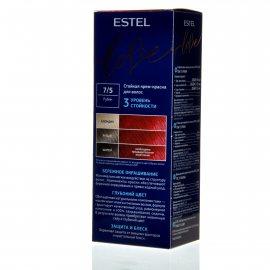 Крем-краска для волос ESTEL LOVE 7/5 Рубин