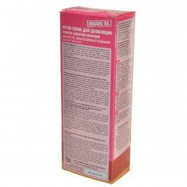Крем-скраб для депиляции ORGANIC OIL для ног, рук, бикини и подмышек д/вс.типов 100мл