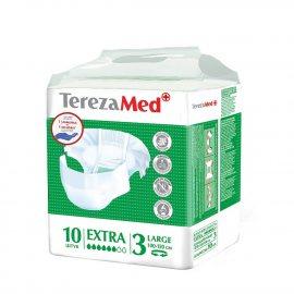 Подгузники для взрослых TEREZA MED Large 10шт Extra №3 100-150см