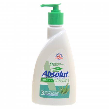 Мыло жидкое ABSOLUT Nature FitoGuard Антибактериальное Алоэ 25% экон. 500г
