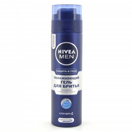 Гель для бритья NIVEA For Men Увлажняющий 200мл