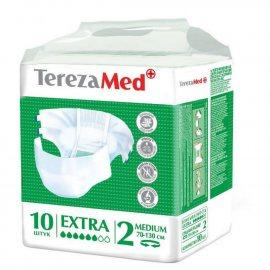 Подгузники для взрослых TEREZA MED Medium 10шт Extra №2 70-130см