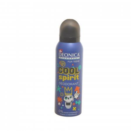 Дезодорант DEONICA For Teens женский Спрей Cool Spirit 125мл