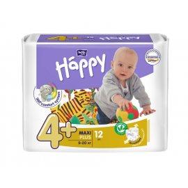 Подгузники BELLA HAPPY 9-20кг 12шт Maxi plus 4+