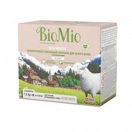 Стиральный порошок BioMio Автомат для белых вещей б/зап концентрат 1.50кг