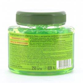 Гель для укладки волос ПРЕЛЕСТЬ Био Сильная фиксация Жизненная сила С экстрактом зеленого чая 250мл