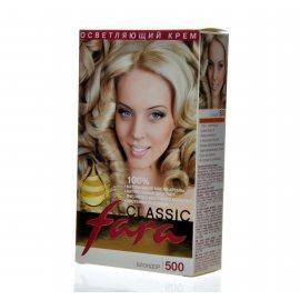 Крем-краска для волос FARA Classic осветляющая 500 Блондор