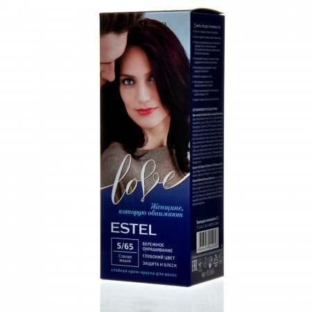 Крем-краска для волос ESTEL LOVE 5/65 Спелая вишня