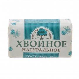 Мыло туалетное РЕЦЕПТЫ ЧИСТОТЫ Твердое ХВОЙНОЕ 180г
