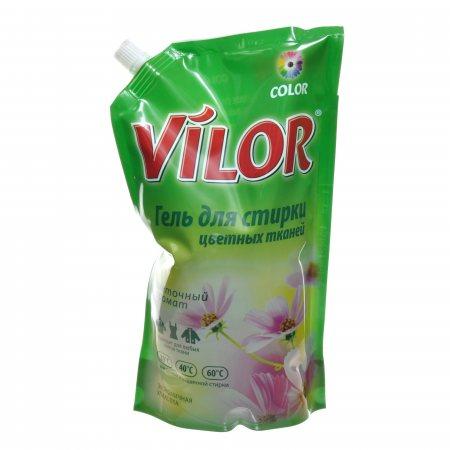 Средство для стирки гель VILOR для цветного белья 1000мл